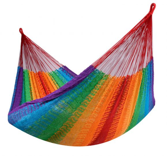 Hängematte 2 Personen Mexico Rainbow