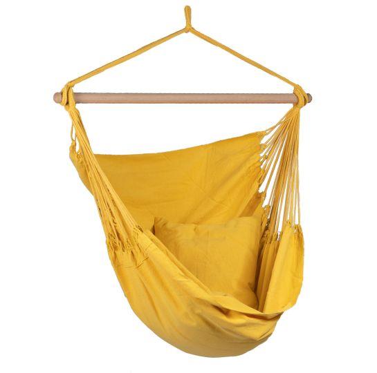 Hängestühl 1 Person Organic Yellow